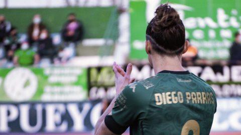Diego Parras jugador AD Mérida