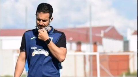 Chino entrenador Olivenza