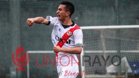 Dani Rueda jugador Rayo Juvenil