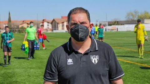 Juanpe Sánchez antes del Play Off