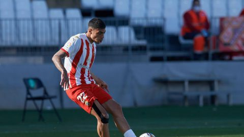 Samú Costa en un partido de la temporada |Foto: LaLiga
