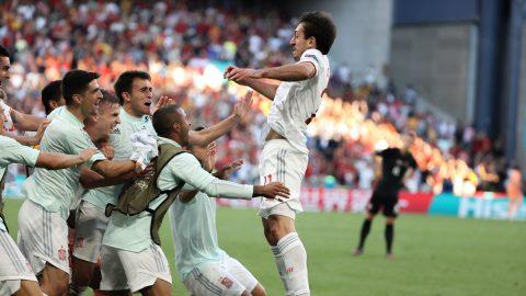 Selección Española Gol Oyarzabal
