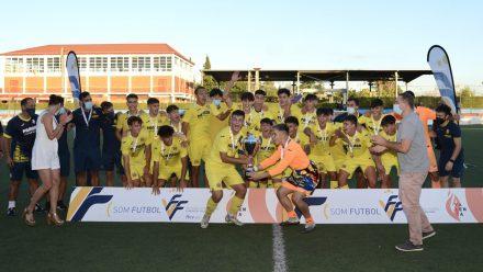 Villarreal CF campeón Cadete Autonómico