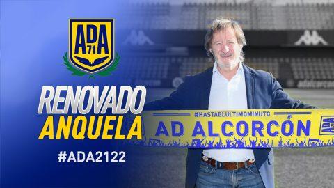 Anquela entrenador AD Alcorcón renovación