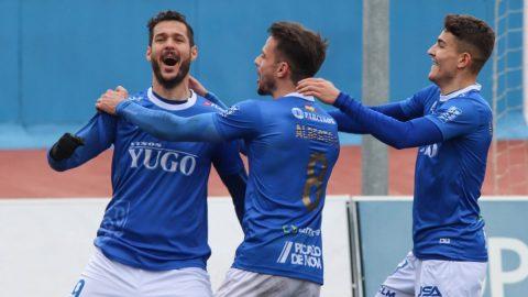 Antonio Megías celebrando gol Socuéllamos