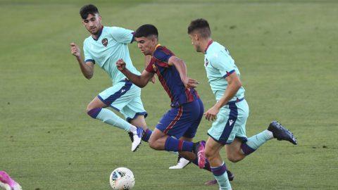 Barcelona - Levante Copa Campeones Juvenil vuelta