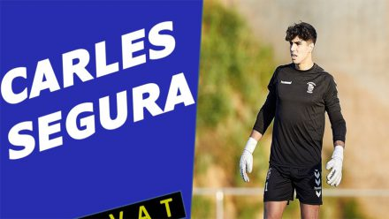 Carles Segura portero CP San Cristobal