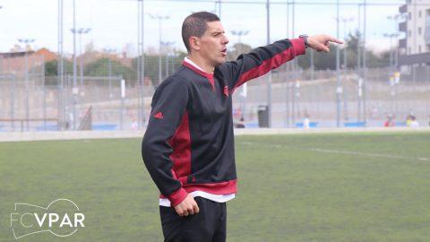 Diego Mejide partido FC Villanueva del Pardillo