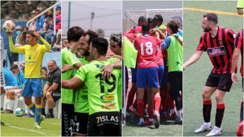 Las Palmas 'C', UD Gran Tarajal, UD Lanzarote y CF Unión Viera