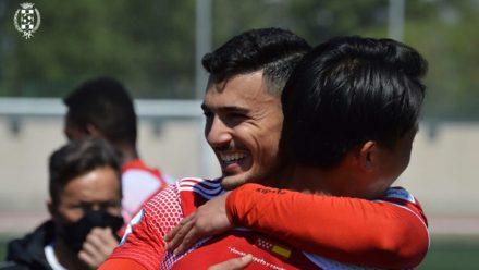 Iván González capitán Atlético de Pinto