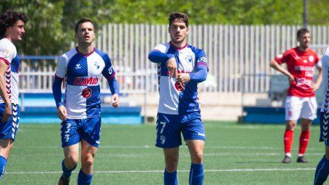 José Ramon celebra gol Ebro