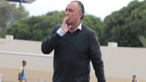 Josu Uribe ex entrenador UD Lanzarote