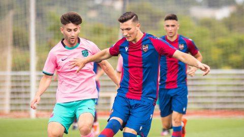 Ida cuartos Copa Campeones Juvenil Levante Barcelona