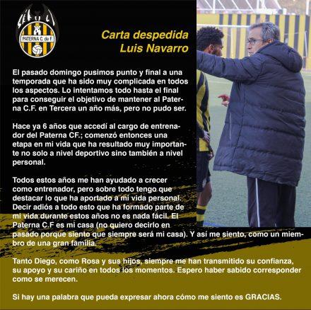 Luis Navarro Paterna CF