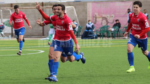 Mario González celebración gol Aranjuez CF