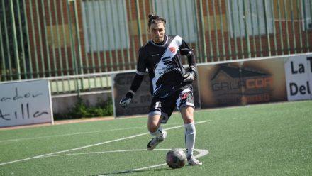 Nacho Esteban portero AD Torrejón CF