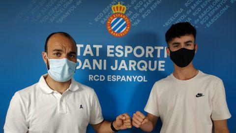Pol García juvenil renovado Espanyol