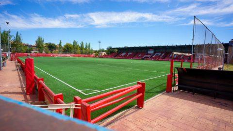 Amelia del Castillo estadio Atlético de Pinto