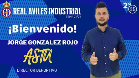 Jorge Rojo, nuevo director deportivo del Real Avilés