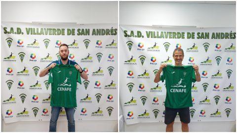 Álvaro Bernal y Fede Bahón SAD Villaverde