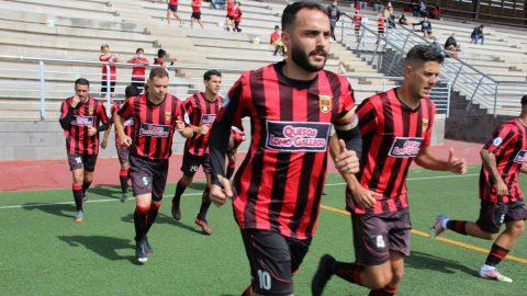 Xiraxi y Ramón Muñoz del CF Unión Viera