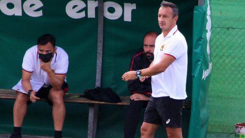 Ángel Camacho entrenador CF Unión Viera