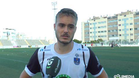 Xavi Llinares, jugador del Villajoyosa CF
