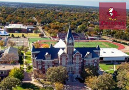 Falcons Friends University de los Estados Unidos.