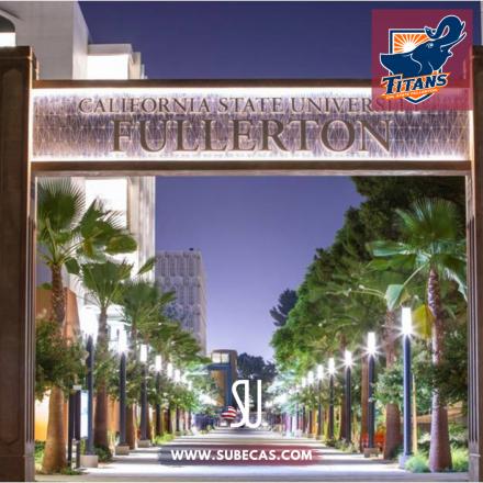 Universidad de Fullerton, en California, donde estudió Samuel Goñi.
