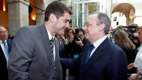 Florentino Pérez Casillas Real Madrid