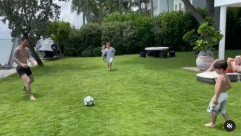 Mateo Messi viral