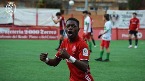 Keita gol celebración Atlético de Pinto
