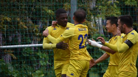 Cedric celebra gol Alcorcón B