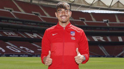 Santi Miguélez presentación Atlético de Madrid