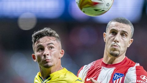 Atletico Villarreal bronca vestuarios