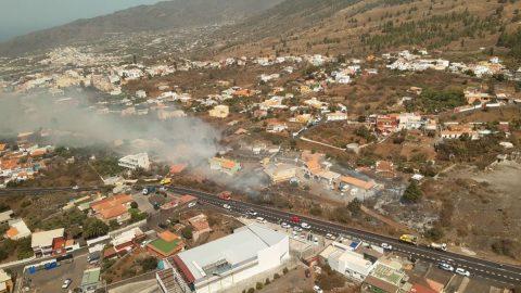 Incendio El Paso