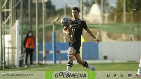 Jugador Intercity contra Villajoyosa