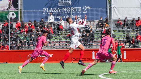 Marcelo Santos partido contra Real Madrid Castilla
