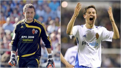 César Sánchez y Ander Herrera Zaragoza