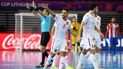 España Paraguay Mundial Fútbol Sala
