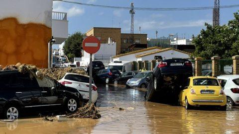 Inundaciones San Roque de Lepe