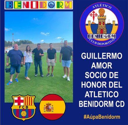 Guillermo amor atlético benidorm