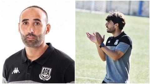 Capdevila y Jorge Romero Alcorcón