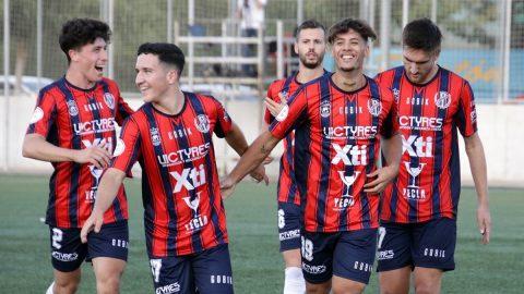 Celebración gol Yeclano Deportivo