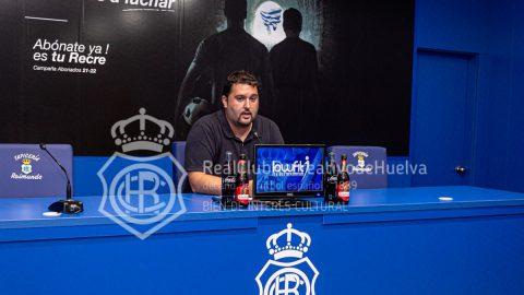 Dani Alejo director deportivo Recreativo Huelva
