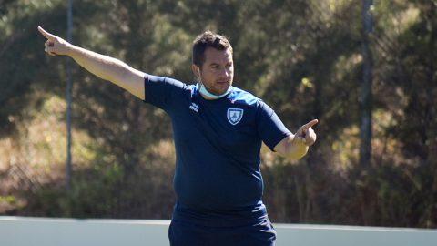 Diego Martínez entrenamiento CD Numancia