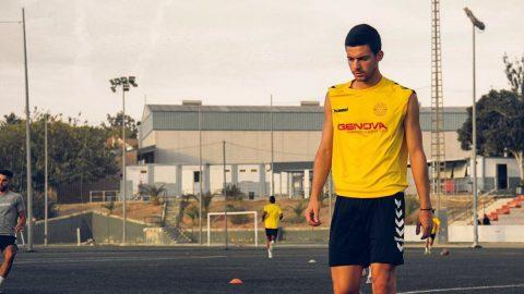 Fede Zanetti entrenamiento Racing Murcia