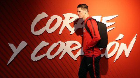Fernando Torres pasea instalaciones Atleti