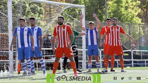 Jugadores CF Torre Levante y CD Utiel