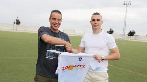 Rafa Jiménez jugador CD Illescas
